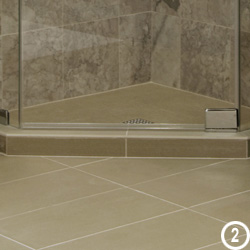 A Bullnose Is The Most Widely Available Trim Piece Usually Around 3 Wide And Length Of Field Tile Has Convex Radius On One